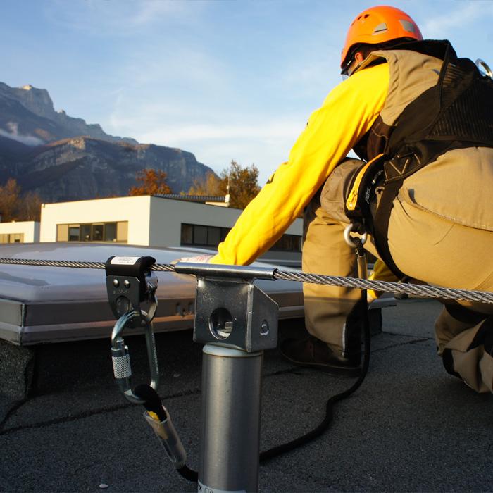 SBEM Etancheite Mayenne Systeme Cable Horizontal Altiligne 1 Grande